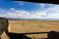 Ngorongoro-Krater-Safari Stockfoto