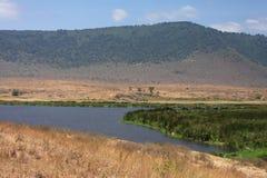 Ngorongoro Landscape Stock Images