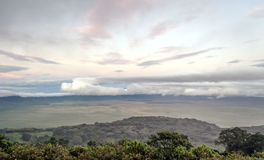 Ngorongoro valley Royalty Free Stock Photo