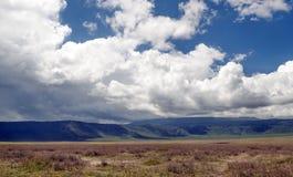 Ngorongoro valley Royalty Free Stock Photos