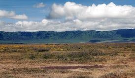 Ngorongoro valley Royalty Free Stock Images
