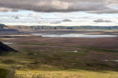Ngorongoro valley Stock Image