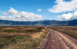 Ngorongoro valley Royalty Free Stock Image