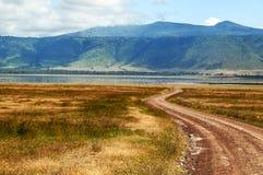 Ngorongoro valley Royalty Free Stock Photography