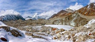 Ngozumba Glacier, Sagarmatha National Park, Nepal stock images