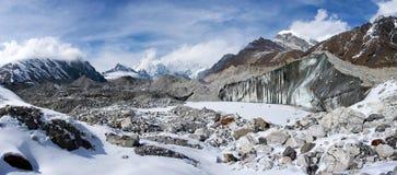 Ngozumba Glacier, Sagarmatha National Park, Nepal Stock Image