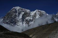 Ngozumpa Tse in Himalayas royalty free stock photo
