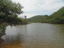 Ngudel-Fluss Lizenzfreie Stockfotos