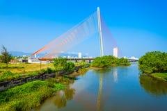 Nguyen Van Troi Tran bro arkivbilder