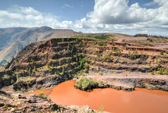 Ngwenya Iron Ore Mine - Swaziland Royalty Free Stock Images