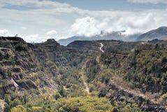 Ngwenya Iron Ore Mine - Swaziland Stock Photo