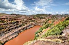 Ngwenya Iron Ore Mine - Swaziland Stock Images