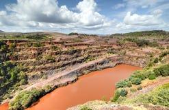 Ngwenya Iron Ore Mine - Swaziland Royalty Free Stock Image