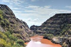 Ngwenya Iron Ore Mine - Swaziland Stock Photography