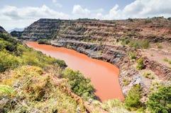 Ngwenya Iron Ore Mine - Swaziland Royalty Free Stock Photography