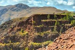 Ngwenya Iron Ore Mine - Swaziland Stock Image