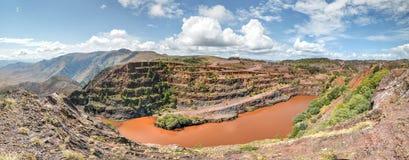 Ngwenya Iron Ore Mine - Swaziland Royalty Free Stock Photos