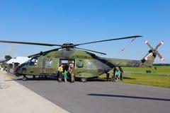 NH90 armii niemieckiej helikopter Obraz Royalty Free