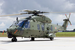 NH90 helicopter Stock Image