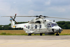 NH90 helicopter Stock Photography