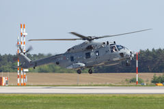 NH90 navy helicopter Stock Photo