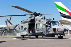 NH90 navy helicopter Royalty Free Stock Images