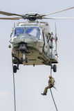 NH90 soldier Stock Image