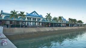 Nha gummicang - Internationale marinastation royaltyfri foto