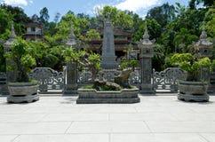 nha pagody trang Zdjęcia Royalty Free