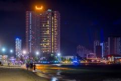 Nha Trang, Вьетнам - 19-ое февраля 2019: Городской пейзажВьетнам ГОСТИНИЦЫ â€œNG THANH БОЛЬШОЙ NHA TRANG à '¡ à ¯Ã'MÆà стоковые изображения