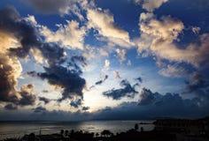 Nha Trang Bay Sunrise Vietnam Royalty Free Stock Photography