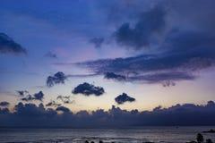 Nha Trang Bay Sunrise Vietnam Royalty Free Stock Photos