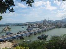 Nha Trang bridge Stock Images