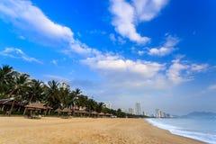 Nha Trang City Beach, Early Morning Stock Photography
