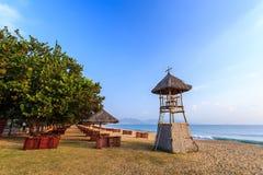 Nha Trang City Beach, Early Morning Stock Images