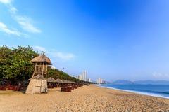 Nha Trang City Beach, Early Morning Royalty Free Stock Photography