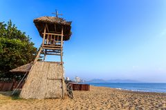 Nha Trang City Beach, Early Morning Stock Photo