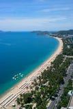 Nha Trang City beach, Vietnam Royalty Free Stock Images