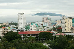 Nha Trang city in Vietnam Royalty Free Stock Image