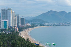 Nha trang city, vietnam Stock Photos