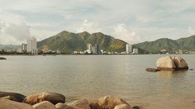 Nha Trang city. Vietnam. Shot in Full HD - 1920x1080, 30fps stock video footage