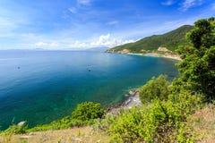 Nha Trang fjärd, Vietnam Royaltyfria Bilder