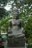 Nha Trang, gudomliga statyer för Vietnam sten av forntida vietnamesisk kultur som lokaliseras nära tempelkomplexet på Nagar i arkivfoto