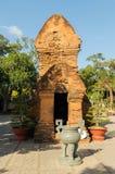 Nha Trang haben Ponagar-Pagode, einen Tempel der Herrschaft des Cham Nha Trang, Bezirk Vinh Phuoc lizenzfreies stockfoto