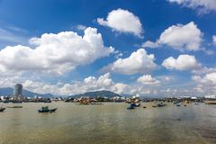 Nha Trang Harbour View Royalty Free Stock Photos