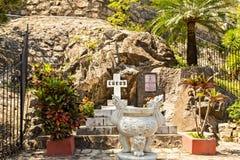 Nha Trang katedra jest wielkim kościół w mieście obrazy royalty free