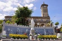 Nha Trang Kathedrale Stockfotografie