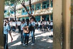 NHA TRANG, KHANH HOA, VIETNAME - 16 DE MARÇO DE 2017 Fotografia de Stock