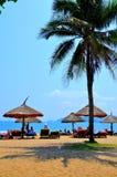 Nha Trang's plaża Zdjęcie Stock