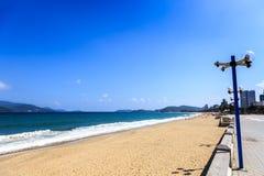 Nha Trang miasta plaża, Wietnam Obraz Royalty Free